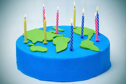 Earth Day Birthday!